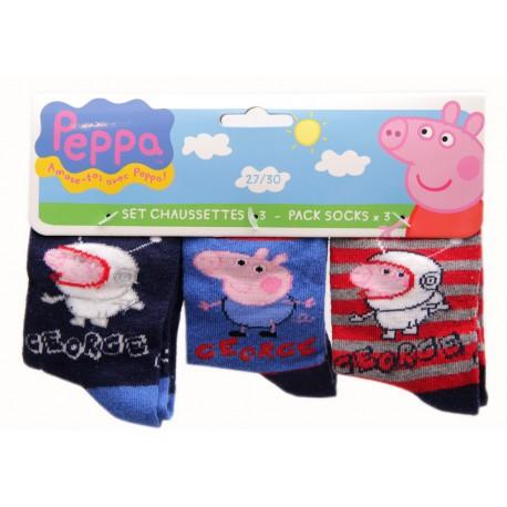 3 pak skarpet świnka Peppa