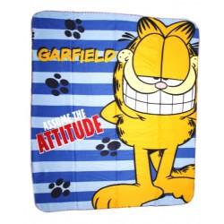 Kocyk polarowy Garfield 120 x 140 cm