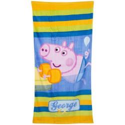 Ręcznik plażowy/ kąpielowy Świnka Peppa- George